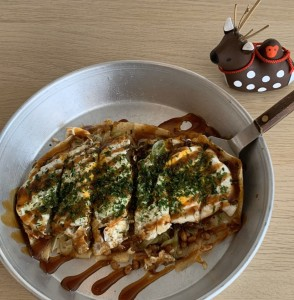 納豆とん平焼き